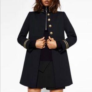 ***SOLD - Zara NWOT Military Blazer Coat Small